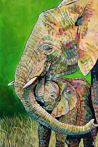 Elephants unbreakable bond e s300