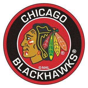 Chicago blackhawks nhl roundel area rug s300