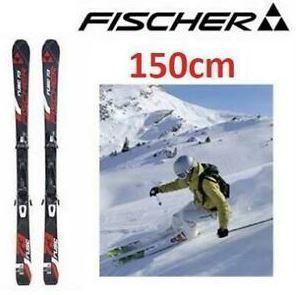 Fischer fuse 150 winter kids skis s300