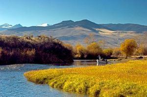 Big hole river   pretty pic in fall s300