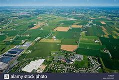Airplane ride ariel view of lancaster county s300