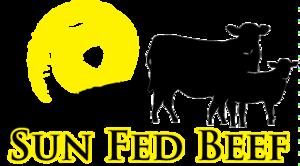 Sun fed beef logo vector s300