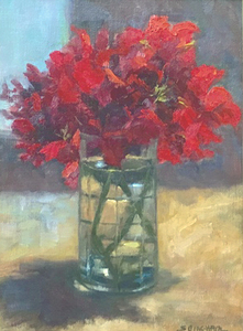 Geraniums in a glass 2 s300