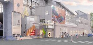 Arts umbrella the new limitless new building homepage s300