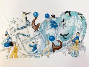 A polar paradise poster s300