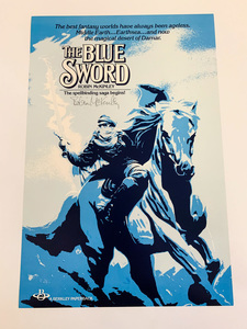 Blue sword poster s300