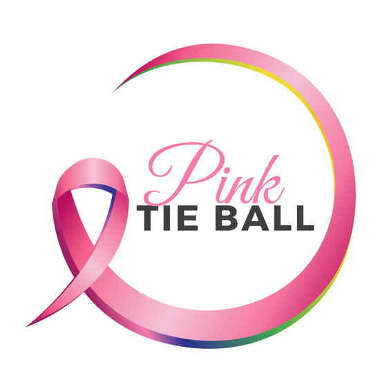 Pink tie ball color logo s550