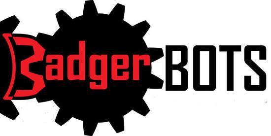 Badgerbots logo black bots s550