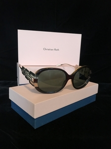 Christian roth sunglasses black and gold 1 s300