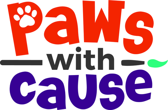 Paws with cause logo color s550
