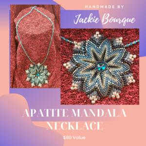 Apatite mandala necklace s300