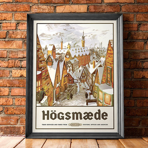 Hogsmeade brickwall 20 s300