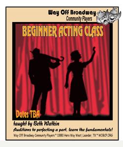 Beginner acting class s300