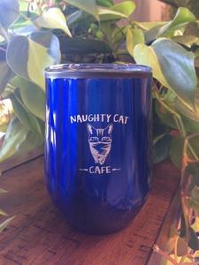 Naughty cat cafe wine tumbler s300