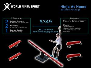 Wns ninja at home balance package   justin conway s300