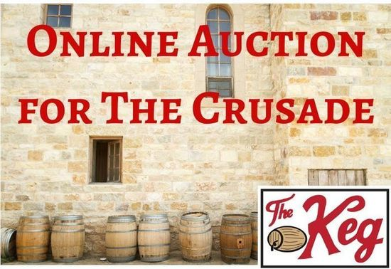 Online auction for the crusade s550
